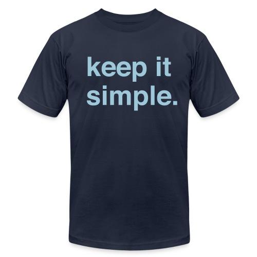 Keep It Simple - Men's  Jersey T-Shirt