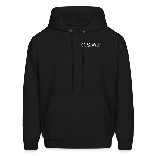 Can't Save The World Foundation - Men's Hoodie