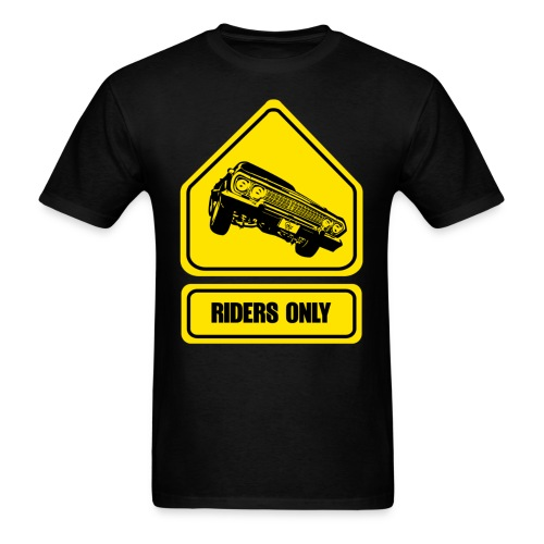 RIDERS ONLY - Men's T-Shirt
