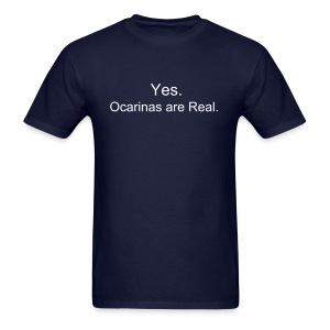 Ocarinas are Real (Guys) - Men's T-Shirt