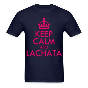 [f(x)] Keep Calm & La cHA tA - Men's T-Shirt