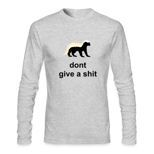 THE HONEY BADGER - Men's Long Sleeve T-Shirt by Next Level