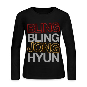 [SHINee] Bling Bling - Women's Long Sleeve Jersey T-Shirt