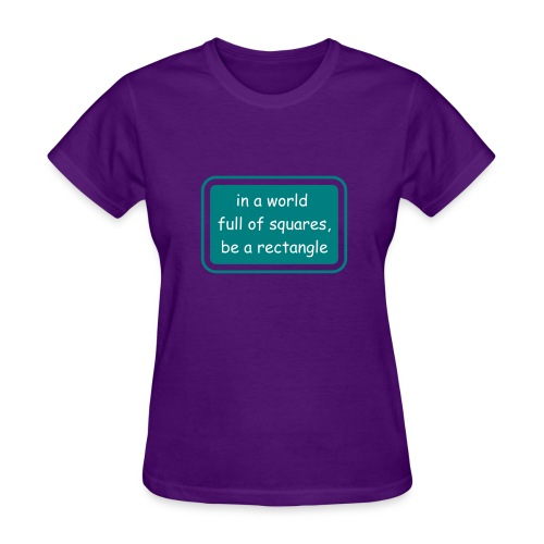 To hip to be a square  - Women's T-Shirt