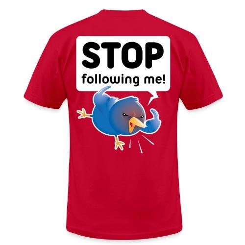 Stop following me! (backprint) - Men's  Jersey T-Shirt
