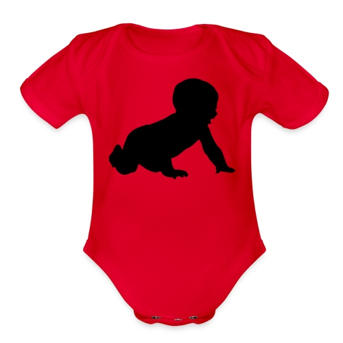 SWAG me out 3 - Organic Short Sleeve Baby Bodysuit