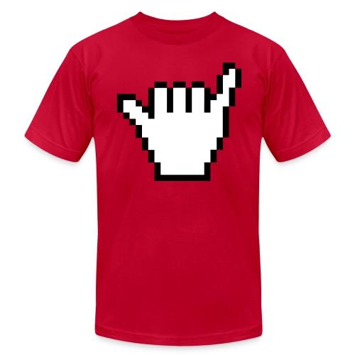 8-Bit Shaka - Men's Fine Jersey T-Shirt