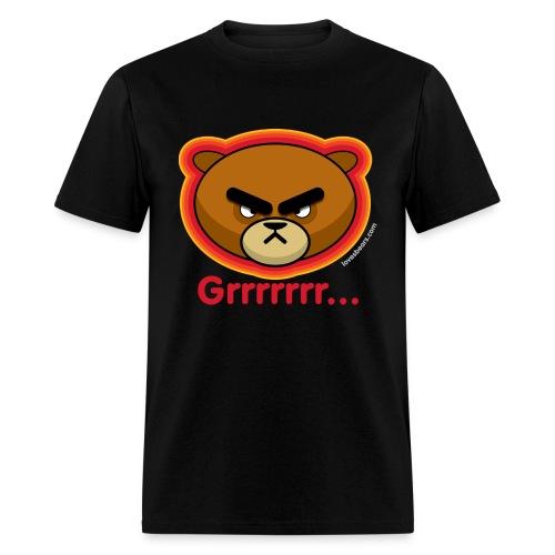Grrrrrrrr...U Mad? (angry bear) - Men's T-Shirt