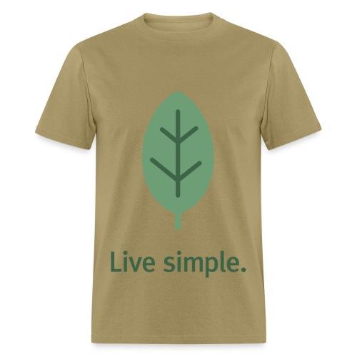 LIVE SIMPLE - Men's T-Shirt