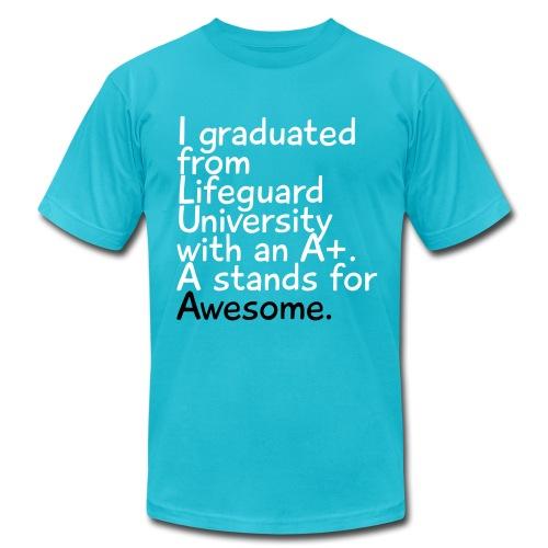 Lifeguard University - Men's Fine Jersey T-Shirt