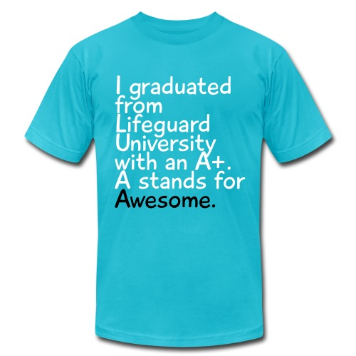 Lifeguard University - Men's  Jersey T-Shirt