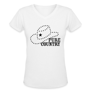Pure Country - Women's V-Neck T-Shirt