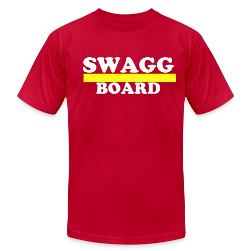 SWAGG OVERBOARD - Men's  Jersey T-Shirt