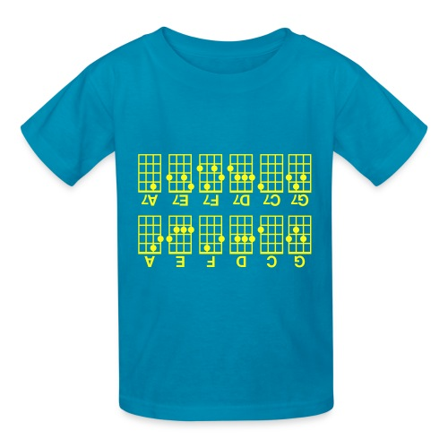 Beginner's Ukulele Cheat Sheet - Kids' T-Shirt