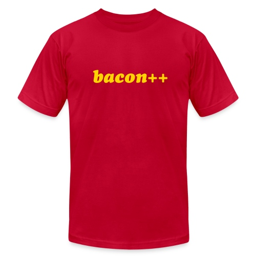 bacon++ - Men's Fine Jersey T-Shirt