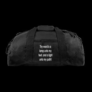 Thy word is a lamp  - Duffel Bag