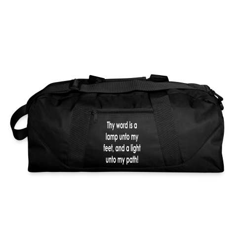 Thy word is a lamp  - Duffel Bag