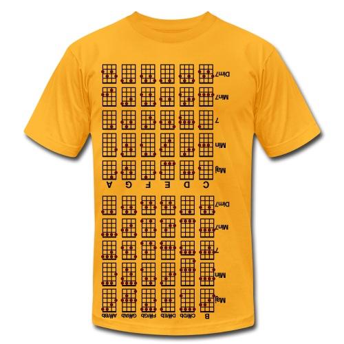Ukulele Cheat Sheet - Men's Fine Jersey T-Shirt