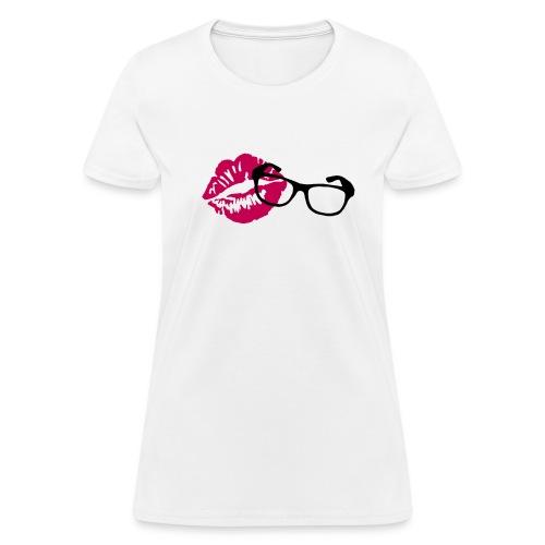 PrettyGeekyVideos Logo Shirt (Ladies) - Women's T-Shirt