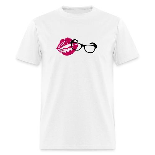PrettyGeekyVideos Logo Shirt (Mens) - Men's T-Shirt
