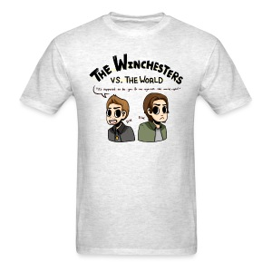 Winchesters vs. The World (DESIGN BY MICHELLE) - Men's T-Shirt
