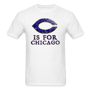 C is for Chicago - Men's T-Shirt