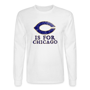 C is for Chicago - Men's Long Sleeve T-Shirt