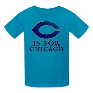C is for Chicago - Kids' T-Shirt