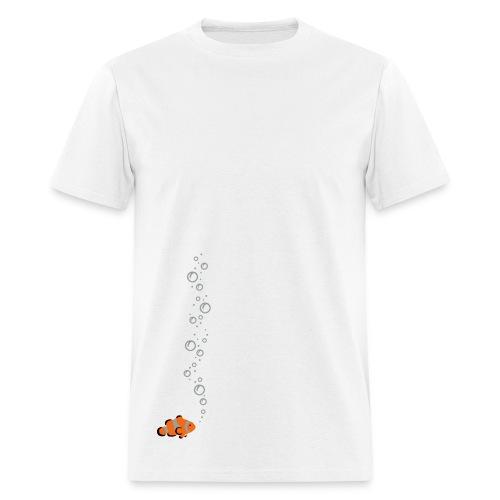 Clownfish Bubbles - Men's T-Shirt