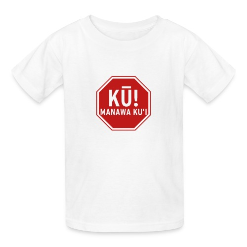 (Hawaiian) Stop! Hammer Time! - Kids' T-Shirt