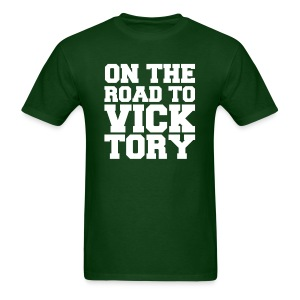 On The Road To VICK-TORY - Men's T-Shirt