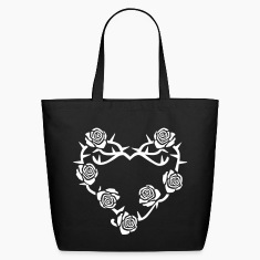 Roses and Thorns Bags