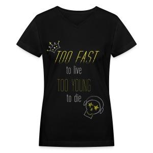 Big Bang - Too Fast, Too Young - Women's V-Neck T-Shirt