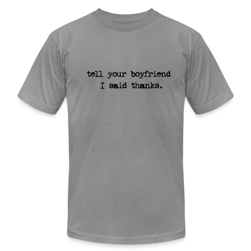 BOYFRIEND TEE - Men's Fine Jersey T-Shirt