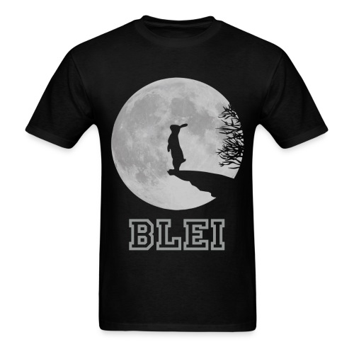 Moon - Black - Men's T-Shirt