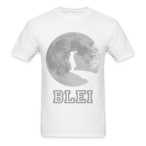 Moon - White - Men's T-Shirt