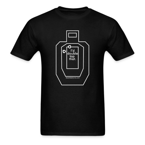 Black Label Double Tap T - Men's T-Shirt