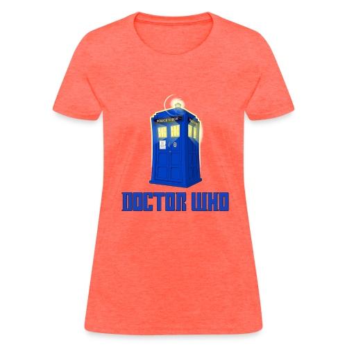 TARDIS/Making Other Boyfriends Look Bad - Women's T-Shirt