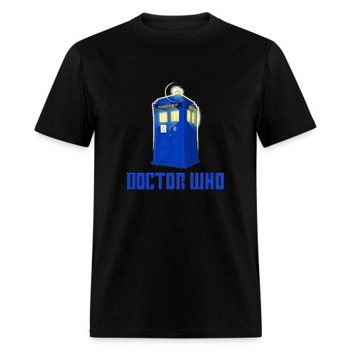 TARDIS/Beat Death - Men's T-Shirt