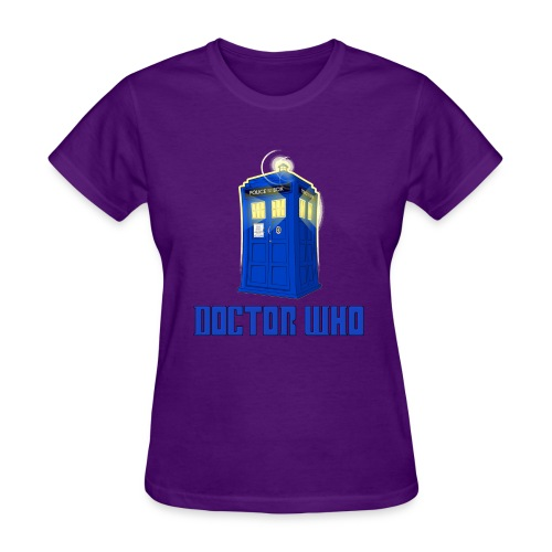 TARDIS/Heart Rory - Women's T-Shirt