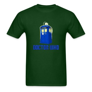 TARDIS/Customizable Text - Men's T-Shirt