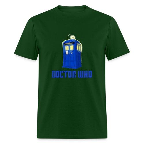 TARDIS/Customizable Text - Men's T-Shirt