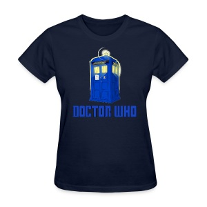 TARDIS/My Boyfriend is the Last Centurion - Women's T-Shirt