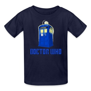 TARDIS/My Daddy is the Last Centurion - Kids' T-Shirt