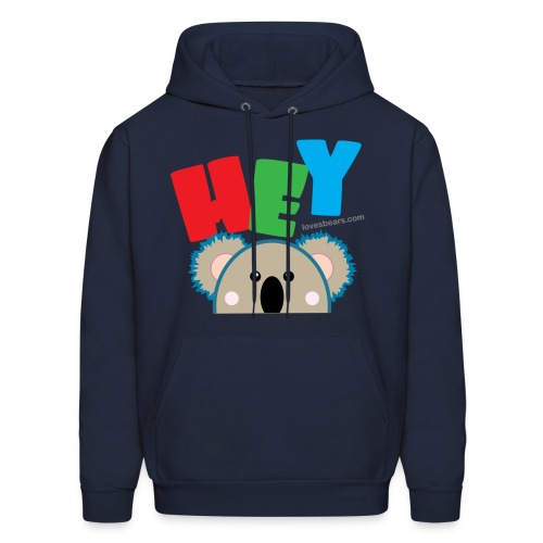 Hey! (Pocket Koala) - Men's Hoodie