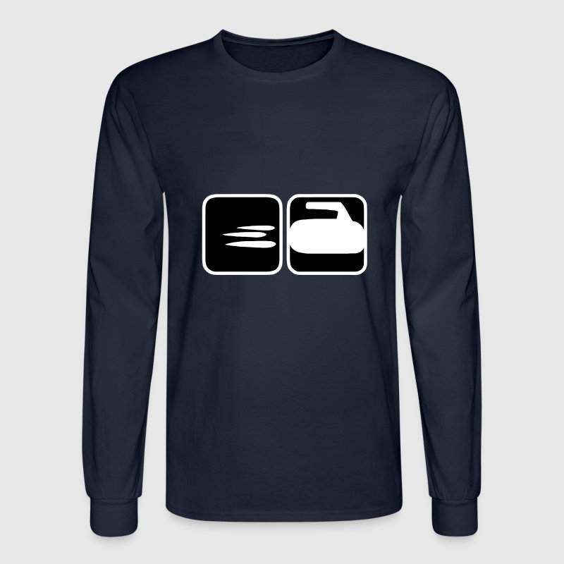 Curling  Long Sleeve Shirts - Men's Long Sleeve T-Shirt