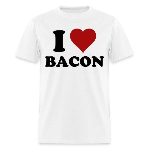 Love of bacon - Men's T-Shirt