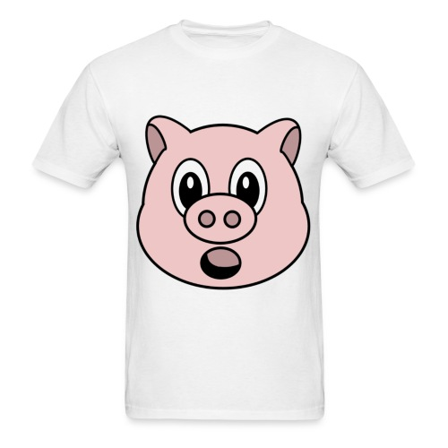 Oh no pig - Men's T-Shirt