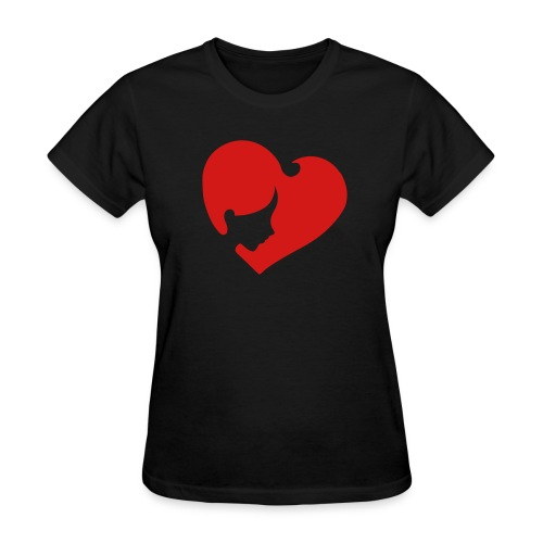 Heart Face - Women's T-Shirt