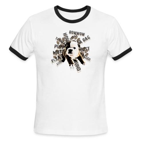 Bulldog - Men's Ringer T-Shirt